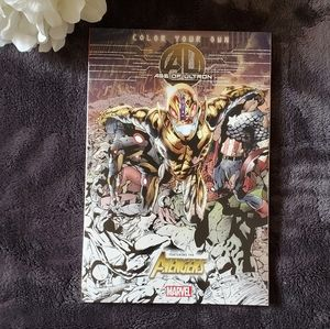 NWT Marvel Age of Ultron Coloring Book